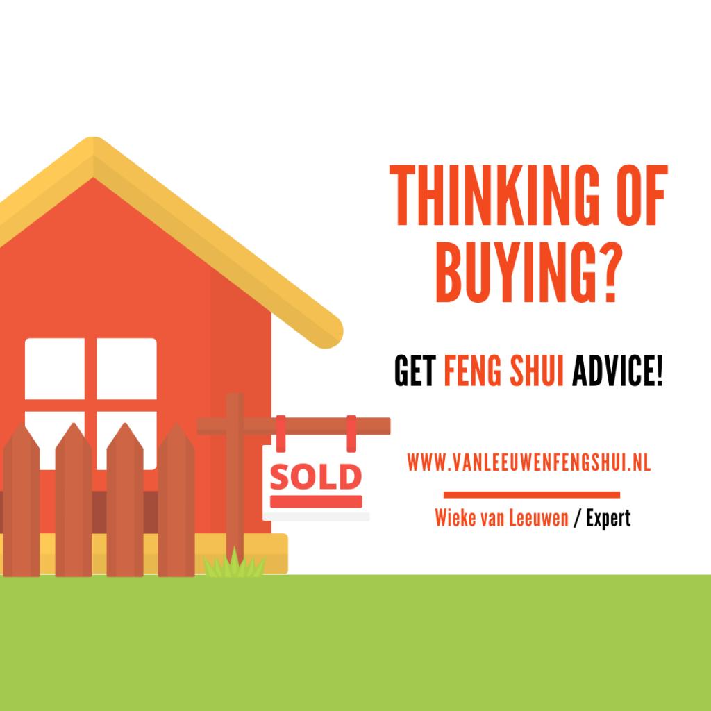 Feng Shui buying house