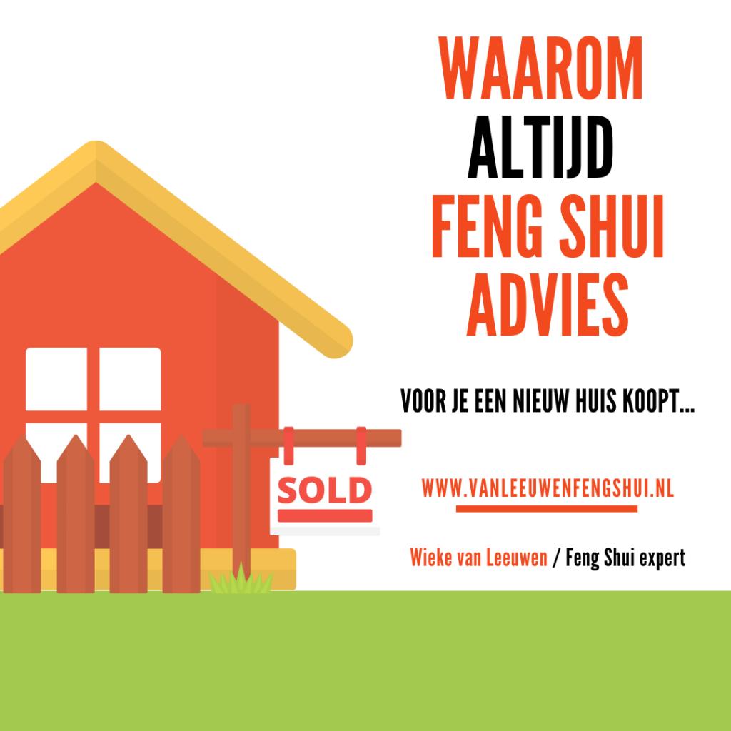 Feng Shui advies nieuw huis